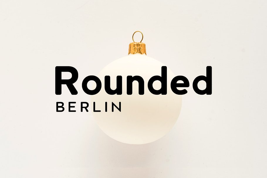 Berlin Rounded