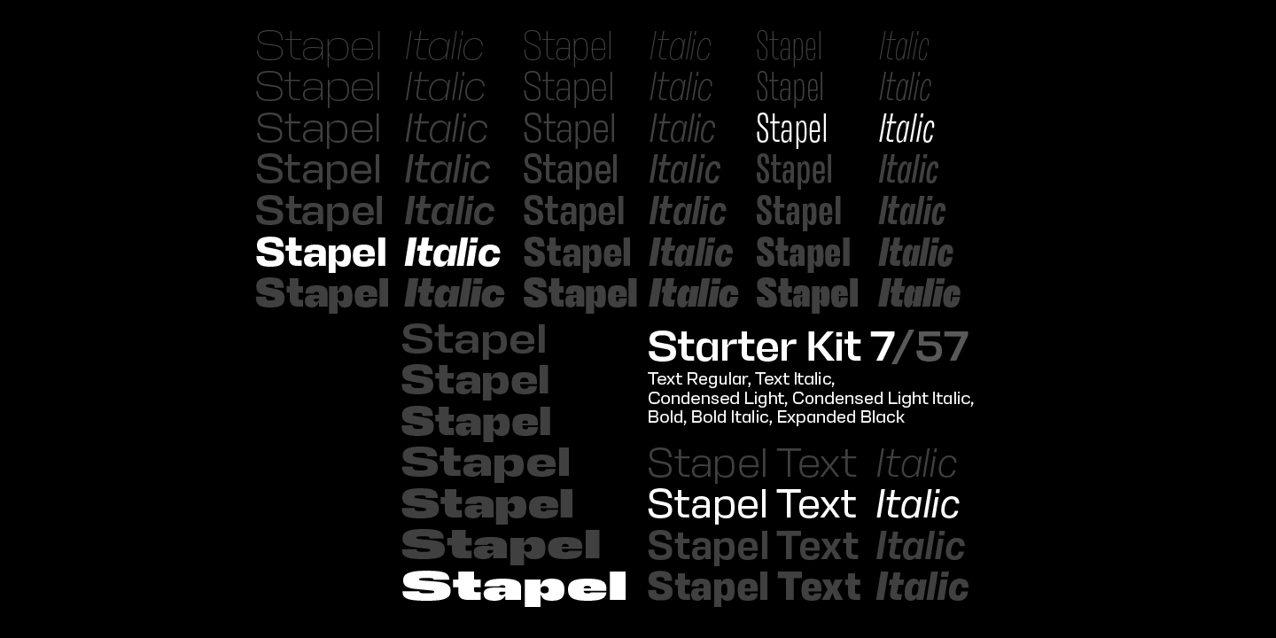 Stapel Condensed